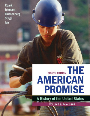 The American Promise  Volume 2 PDF