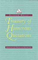 The Random House Treasury of Humorous Quotations PDF