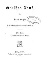 Goethe's Faust: Band 1