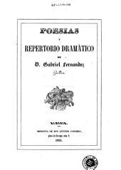 Poesias y repertorio dramático de D. Gabriel Fernandez Guillen