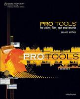 Pro Tools for Video  Film  and Multimedia PDF