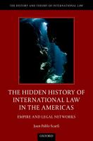 The Hidden History of International Law in the Americas PDF