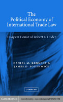 The Political Economy of International Trade Law PDF