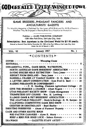 Game Breeders  Pheasant Fanciers and Aviculturists  Gazette PDF