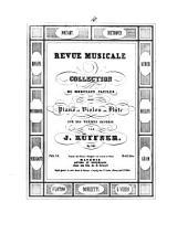 Revue musicale: coll. de morceaux faciles pour piano et violon ou flûte sur des thêmes favoris ; op. 305. ¬Les vêpres siciliennes de Verdi, Volume 34