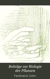 Beiträge zur Biologie der Pflanzen: Volume 7