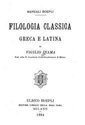 Filologia classica greca e latina