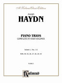 Piano trios: Hob. XV: 25, 26, 27, 28, 29, 24