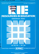 Resources In Education Book PDF