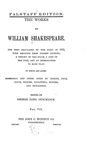 Julius Caesar  Macbeth  Hamlet  King Lear  Othello PDF
