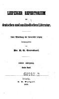Allgemeines Repertorium der neuesten in  und ausl  ndischen Litteratur  hrsg  von Christian Daniel Beck   PDF