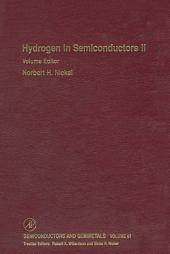 Hydrogen in Semiconductors II