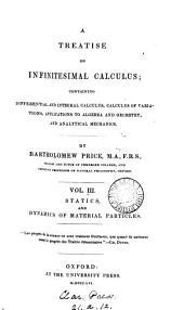A treatise on infinitesimal calculus: Volume 3
