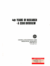 40 Years of Research PDF
