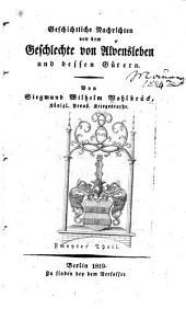 Geschichtliche nachrichten von dem geschlechte von Alvensleben und dessen gütern: Band 2