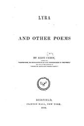 Lyra: And Other Poems