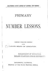 Primary Number Lessons