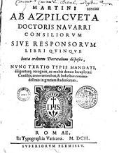 Consiliorum sive responsorum...