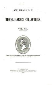 Smithsonian Miscellaneous Collections: Volumes 6-7