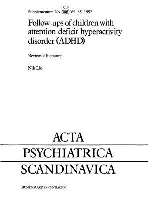 Acta Psychiatrica Scandinavica