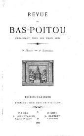 La Revue du Bas-Poitou et des Provinces de l'Ouest: Volume5