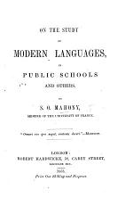 On the study of modern languages in public schools and others