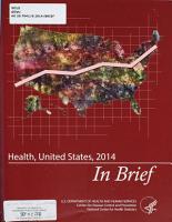 Health  United States      in Brief PDF