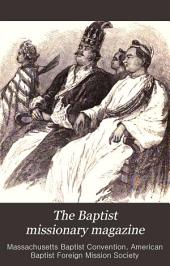 The Baptist Missionary Magazine: Volumes 69-70