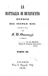 La battaglia di Benevento: storia del secolo XIII.