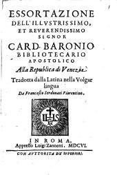 Essortazione alla Republica di Venezia