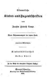 Sammtliche Kinder- Und Jugend Schriften: Band 11