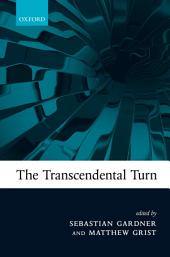 The Transcendental Turn