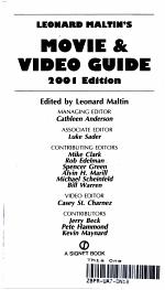 Leonard Maltin's Movie & Video Guide 2001