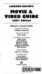 Leonard Maltin s Movie   Video Guide 2001 PDF