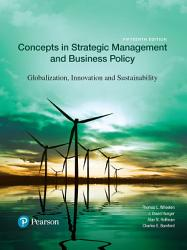 Concepts In Strategic Management And Business Policy Book PDF