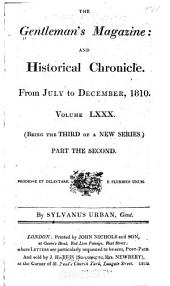 The Gentleman's Magazine: 1810, Volume 80, Part 2
