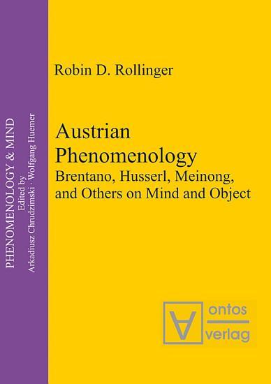 Austrian Phenomenology PDF