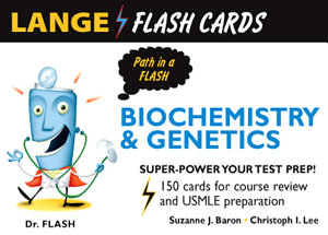 Lange Biochemistry and Genetics Flash Cards Book