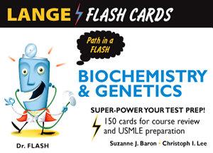 Lange Biochemistry and Genetics Flash Cards Book