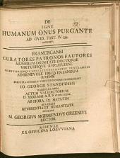 De igne, humanum onus purgante, ad Ovid. Fast. IV, 554 disserit ... M. Georgius Sigismundus Greenius