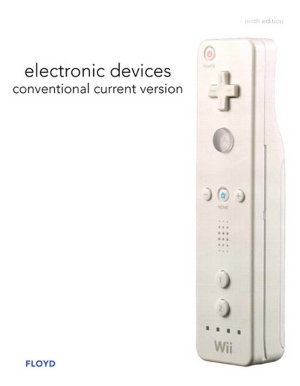 Electronic Devices  Conventional Current Version  PDF