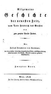 Allgemeine Geschichte alter, mittlerer und neuerer Zeiten: Band 2