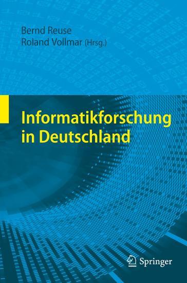 Informatikforschung in Deutschland PDF