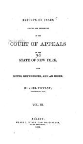 Reports of Cases Argued and Determined in the Court of Appeals of the State of New York: Volume 30