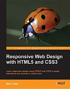 Responsive Web Design with HTML5 and CSS3 PDF