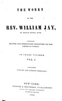 The Works of the Rev  William Jay  Morning and evening exercises PDF