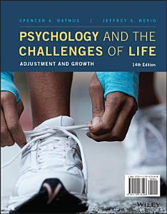 Psychology and the Challenges of Life Book