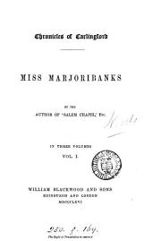 Miss Marjori-banks. by the author of 'Salem chapel'. (Chronicles of Carlingford).