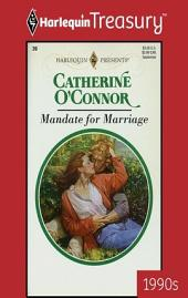 Mandate for Marriage