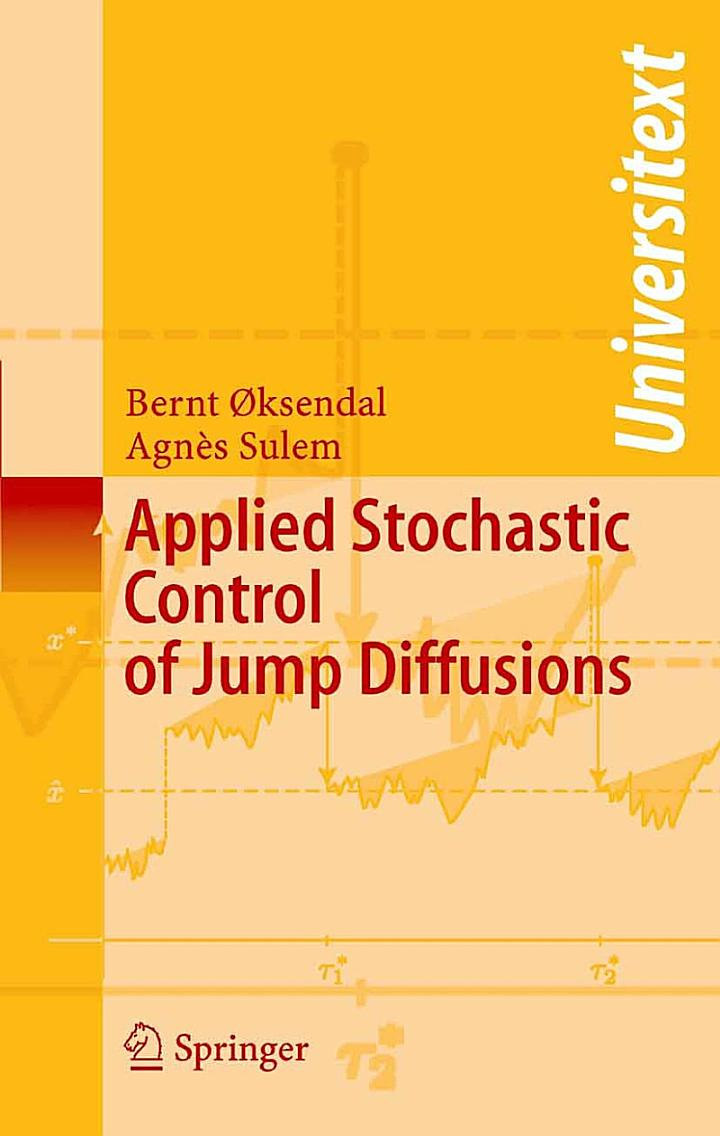 Applied Stochastic Control of Jump Diffusions
